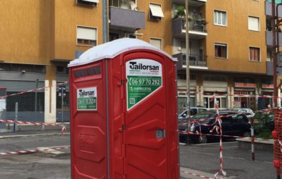 Il nuovo WC di Impregetal fa capolino a Roma